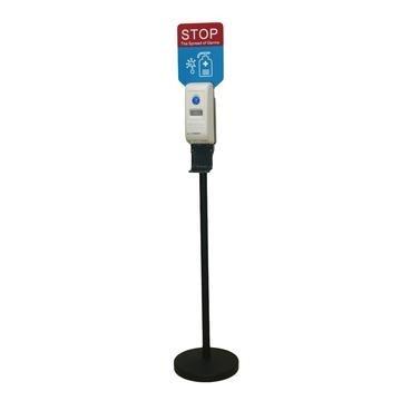 Αυτόματο Dispenser: συσκευή ανέπαφης έγχυσης (ψεκασμού) αντισηπτικού υγρού χεριών