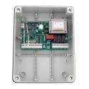 Ηλεκτρονικός πίνακας ελέγχου με ενσωματωμένο δέκτη και κουτί για μοτέρ ανοιγόμενων θυρών 230 VAC AR-812