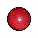 Φακός (πεδίο) σε κόκκινο χρώμα διαμέτρου Φ120mm. Κατάλληλος για φανάρια STAGNOLI.