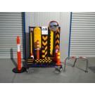 Σταντ δειγματισμού προϊόντων στάθμευσης και ειδών οδικής ασφάλειας
