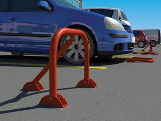 Μπάρες μπαρεμπόδισης στάθμευσης